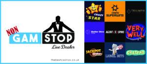 live dealer not on gamstop