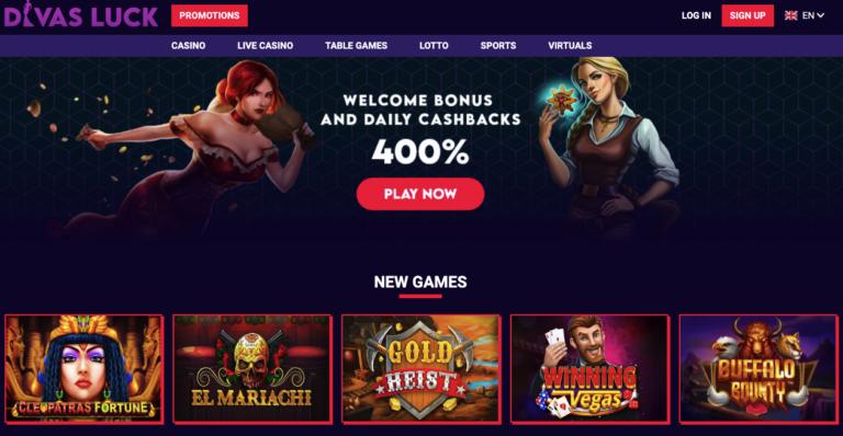 Divas Luck Casino Review